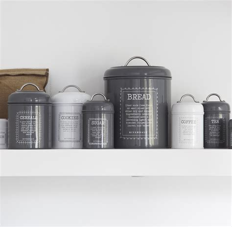 kitchen canisters by riverdale tutti decor ltd