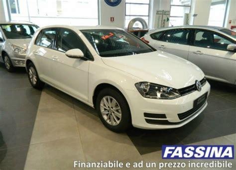 Golf Auto Usata by Nuova Volkswagen Golf 7 Usata Km Zero Infomotori