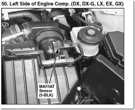 small engine repair training 2009 chevrolet colorado instrument cluster service manual remove maf sensor on a 2012 honda cr v 2006 2015 honda civic map sensor clean