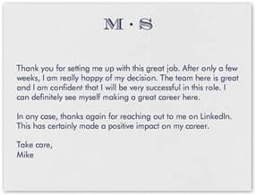 dear recruiter thank you for linkedin talent