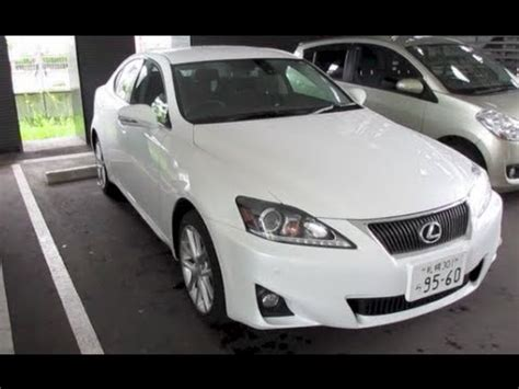 white lexus is 250 2012 2012 lexus is 250 awd exterior interior youtube