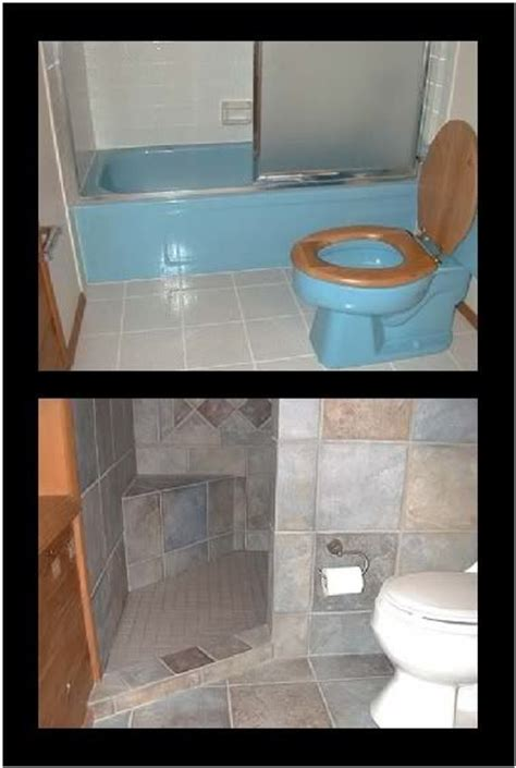 Doorless Shower Designs For Small Bathrooms A Door Less Walk In Shower That Can Be Done In Small Spaces Master Bed Bath Pinterest