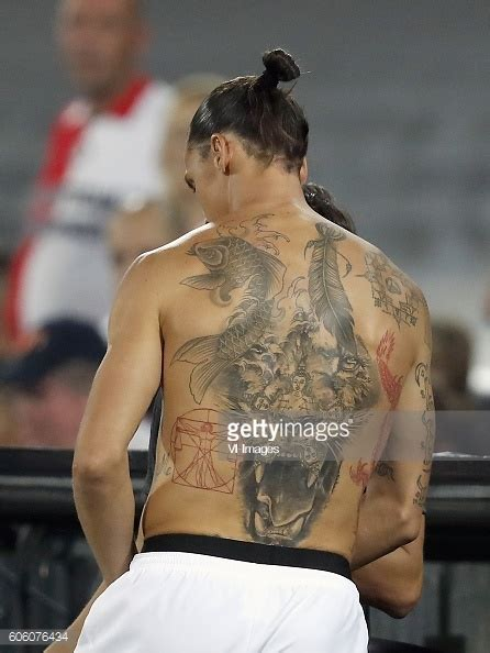 tattoo ibrahimovic new ibrahimovic tattoo stock photos and pictures getty images