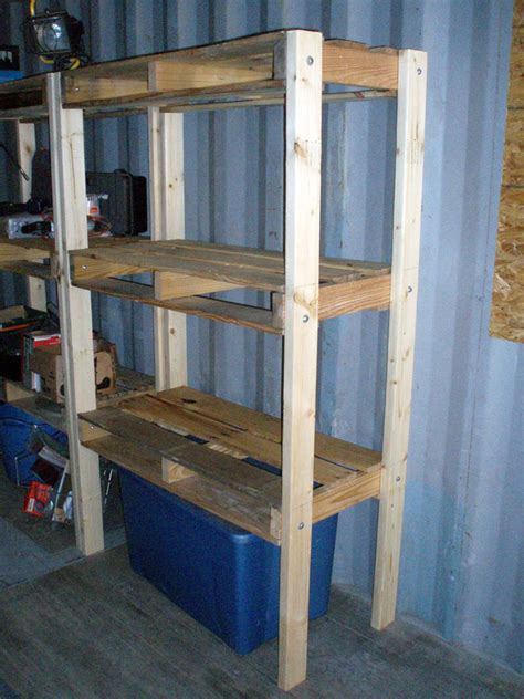 pallet sheds and 14 pallet shelving units