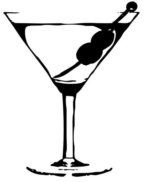 martinis png martini glass silhouette png