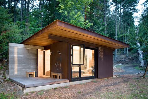 one room homes 7 clever ideas for a secure remote cabin modern house