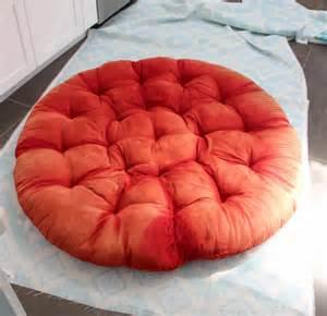 How To Make Papasan Chair Cushion How To Sew A Diy Papasan Chair Cover The Happy Housie