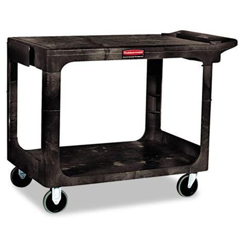 Rubbermaid Flat Shelf Utility Cart by Rubbermaid Flat Shelf Utility Cart