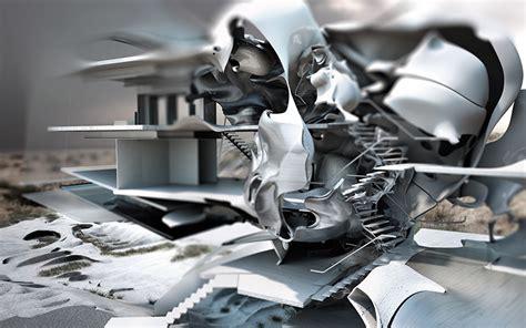 designboom jeff halstead jeff halstead creates conceptual dual reality glass house