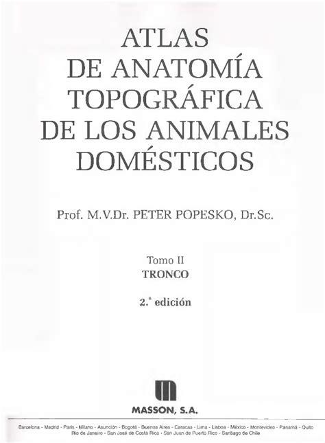 Popesko peter-atlas de anatomia topografica de los