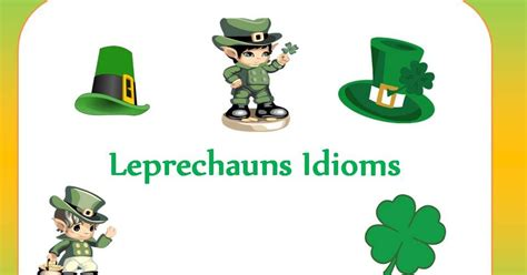 groundhog day idiom a speechie s world leprechaun s idioms