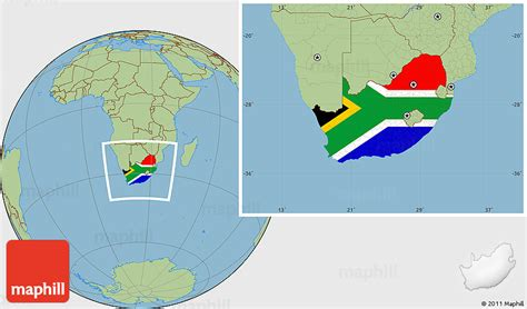 Address Finder South Africa Flag Location Map Of South Africa Savanna Style Outside