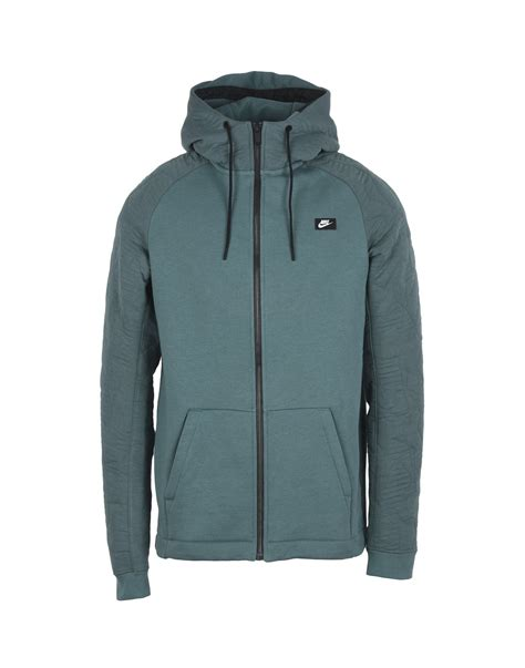 Hoodie Pull nike air mag achat nike modern hoodie zip vert homme