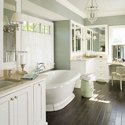 Southern Living Bathroom Ideas | polished master bath luxurious master bathroom design