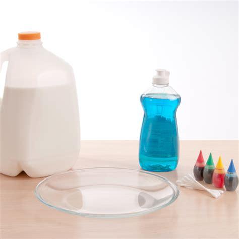 color changing milk experiment milk magic