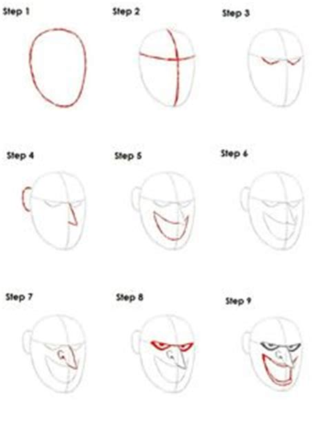 tutorial gambar joker how to draw spider man step by step art lesson ideas