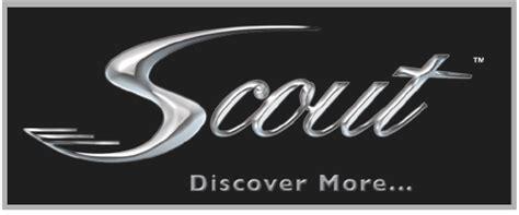 scout boats logo describe your trade bay marine
