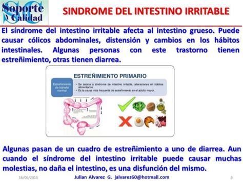 el sindrome del intestino el intestino grueso el organo importante pero olvidado