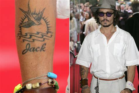 tattoo johnny depp bedeutung gestochen scharf stars und ihre tattoos lifestyle