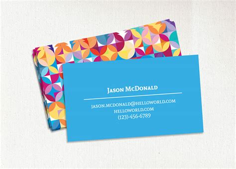 Creative Places To Put Business Cards what do i put on a business card images business card