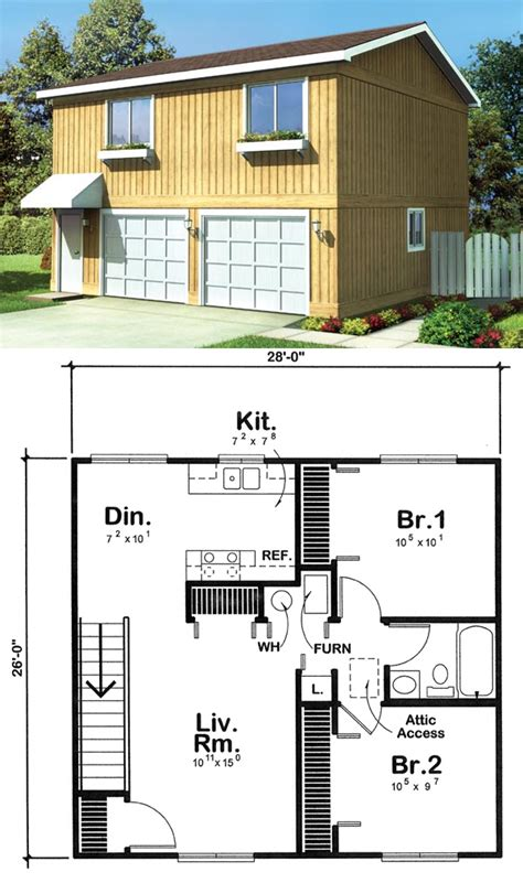 garage plans with 2 bedroom apartment above two car garage with 2 bedroom apartment plans home