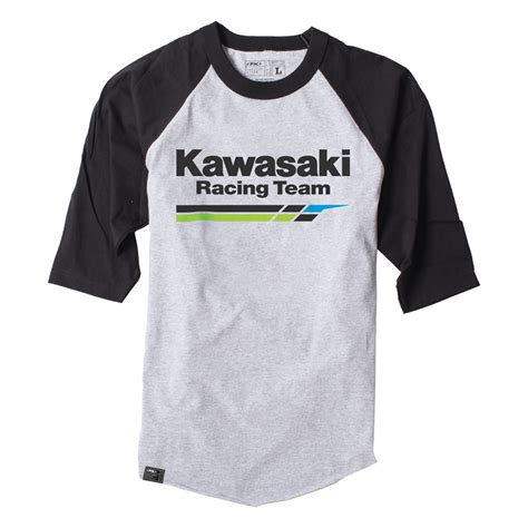 Kawasaki Racing Tshirt kawasaki racing baseball t shirt