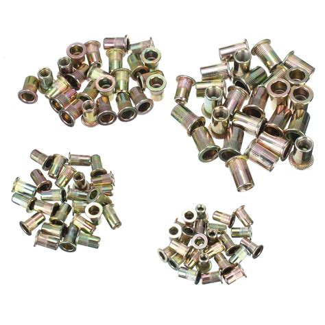 Sale Blind Nut Rumah Baut Diameter 6 Mm Panjang 2 5 Cm 100 pcs steel aluminum threaded rivet nut inserts rivnut m4 m5 m6 m8 x 25pcs 11street malaysia