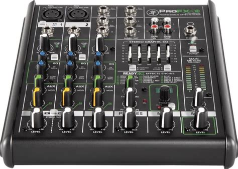 Daftar Audio Mixer Built Up mackie profx4 v2 mixer with fx 4 channel new