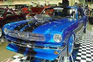 ford mustang custom paint classic mustang wearing an