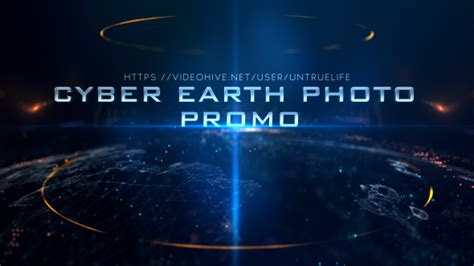 Cyber Earth Photo Promo Space After Effects Templates F5 Design Com Space After Effects Template