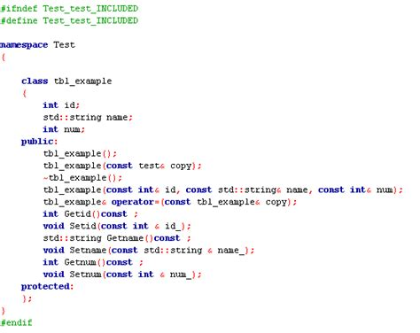 tool to generate class from database table c generating a database front end for qt5 from sql
