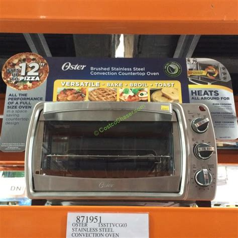 Oster Convection Countertop Oven Costco by Oster 6 Slice Stainless Steel Convection Countertop Oven