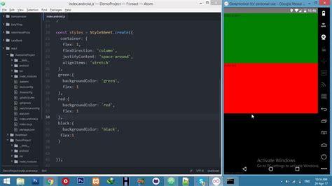react native flexbox tutorial react native flex layout flexbox layout react native