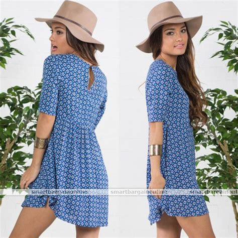 Trend Worth Trying Smocked Patterned Sundresses by Summer Sleeve Casual Sundress Floral