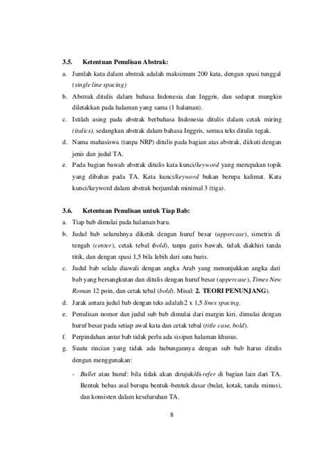 cara penulisan tujuan skripsi cara penulisan skripsi bab 1 loak info