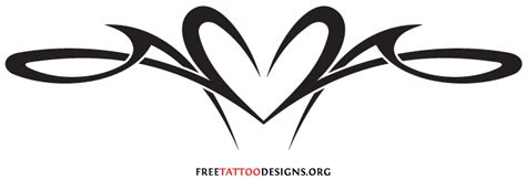 tribal heart tattoo designs flowers tattoos design tattoos design