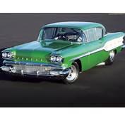 1958 Pontiac Chieftain Front View
