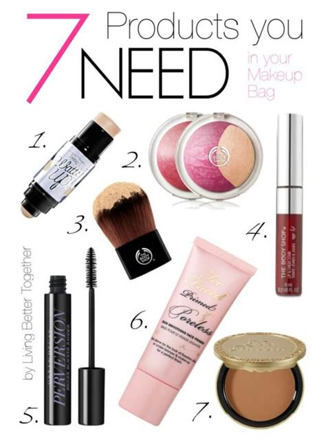 Products You Need In Your Makeup Bag 7 products you need in your makeup bag sugar soul