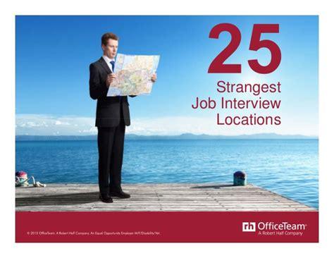 25 strangest locations