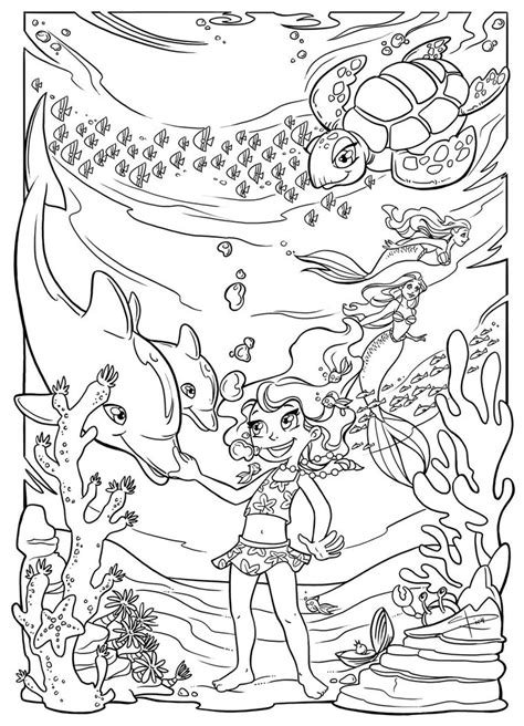 underwater fun coloring page by sabinerich on deviantart
