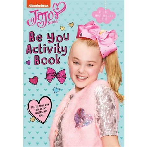 be you activity book jojo siwa books be you activity book paperback jojo siwa target