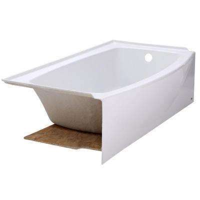 non standard bathtubs alcove bathtubs bathtubs the home depot