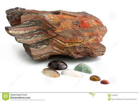 minerals and polished stock photo image 1244282