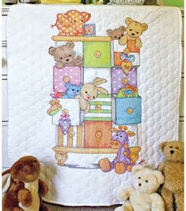 dimensions baby hugs baby drawers quilt sted cross