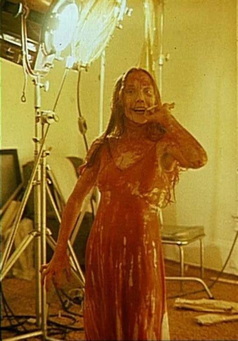 stephen king carrie movie sissy sissy spacek on the set of carrie 1976 movies movies