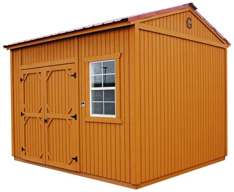 Garden Sheds West by Alto Portable Buildings Graceland Storage Sheds Eagle