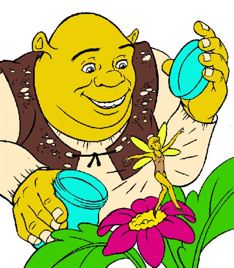 free shrek painting shrek clip cliparts co