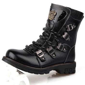 Flat Boots Lky 503 1 best leather boots products on wanelo