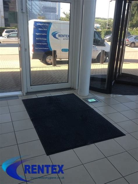 Commercial Mat Service by Washroom Hygiene Services Sanitary Bin Rental Logo Mat Hire