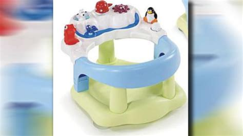 lexibook baby bath seats and chairs recalled